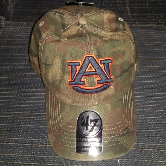 4e24559189a Auburn Tigers  47 Brand fitted hat